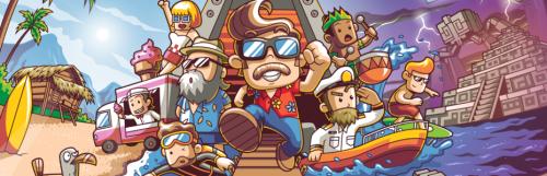 Gamescom 2019 | gc2019 - The Touryst : le nouveau jeu de Shin'en porte des claquettes