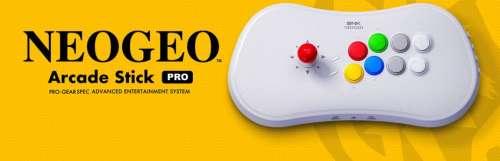 SNK annonce le Neo Geo Arcade Stick Pro