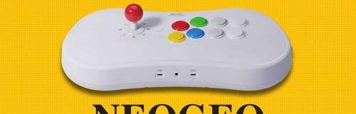 Le Neo Geo Arcade Stick Pro comporte 20 jeux pré-installés