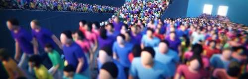 Après Rez Infinite et Tetris Effect, Enhance annonce Humanity sur PS4 et PS VR