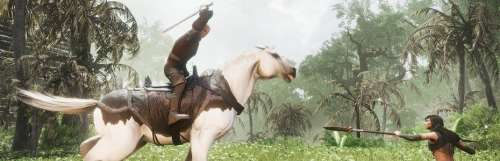 Les survivants de Conan Exiles pourront guerroyer à cheval cet automne