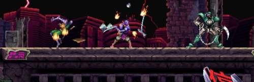 Le jeu d'action rétro Bushiden donne des nouvelles avec du gameplay