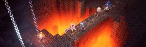 Mojang discute des origines et de la philosophie de Minecraft Dungeons