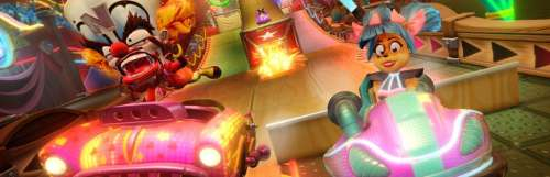 Crash Team Racing Nitro-Fueled embraye sur le grand prix Cirque Néon