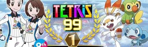 Tetris 99 s'habille aux couleurs de Pokémon Epée/Bouclier pour le weekend