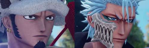 Grimmjow de Bleach et Law de One Piece arrivent dans Jump Force