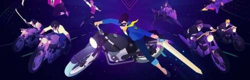 Discrètement, Sayonara Wild Hearts a posé ses motos sur PC