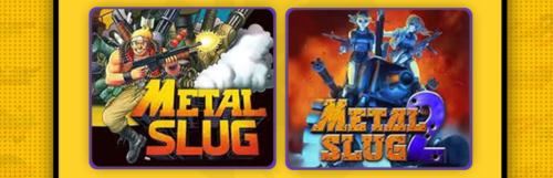 Deux Metal Slug supplémentaires pour le Neo Geo Arcade Stick Pro