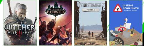 The Witcher 3, Untitled Goose Game, Pillars of Eternity et bien d'autres rejoignent le Game Pass console