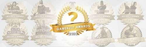 Gamekult awards - Gamekult Awards : vous avez élu vos jeux vidéo de l'année 2019