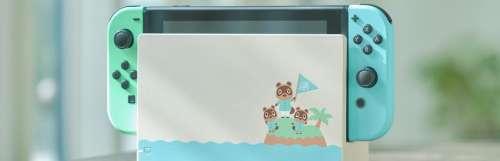 Une Nintendo Switch aux couleurs d'Animal Crossing : New Horizons sera disponible en même temps que le jeu