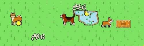 Carnet rose - Puppy Cross, ou quand des grilles de nonogram rencontrent de mignons petits chiens