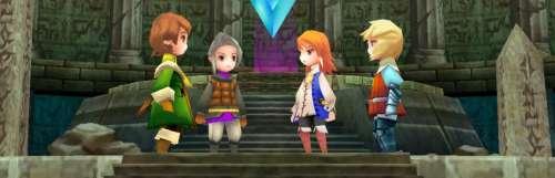 Final Fantasy III se met à jour pour accélérer les combats