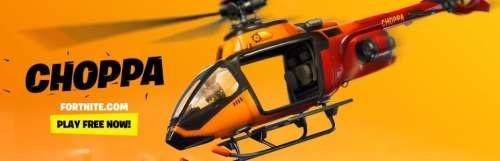Les hélicoptères débarquent dans Fortnite