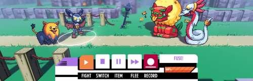 Carnet rose - Le jeu de rôle Cassette Beasts se montre en vidéo