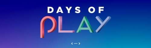 Les promos Days of Play se poursuivent sur le PS Store