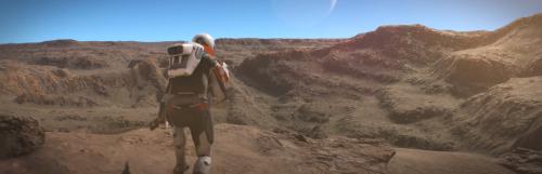 Elite Dangerous descendra du vaisseau dans l'extension Odyssey