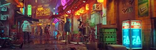 Playstation 5 / ps5 - Stray nous mettra dans la peau d'un chat au coeur d'une ville cyberpunk