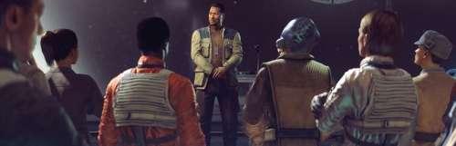 Taillé pour la VR, Star Wars : Squadrons détaille son menu