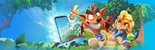 Le studio King annonce le jeu mobile Crash Bandicoot : On the Run