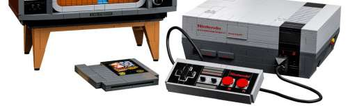 Nintendo et LEGO lanceront un kit de construction NES au prix de 230 euros