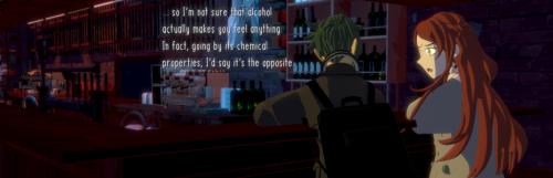 Après plus de trois années de torréfaction, le visual novel Necrobarista prend date sur Steam