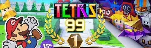 Paper Mario : The Origami King aura aussi droit à sa coupe Maximus dans Tetris 99
