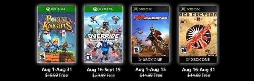 Portal Knights pour les Xbox Games With Gold du mois d'août