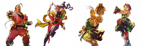 Street Fighter 5 : Dan, Rose, Oro et Akira de Rival Schools au menu de la saison finale