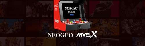Après la Neo Geo Mini, place au mini meuble Neo Geo MVSX