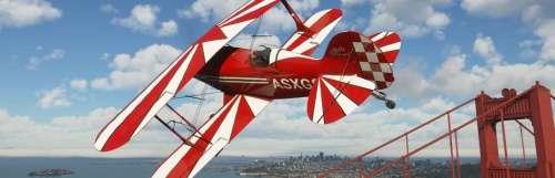Microsoft Flight Simulator passe au-dessus des aéroports