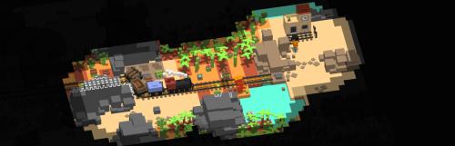 Unrailed : le jeu de coopération ferroviaire prend date sur PS4, Xbox One et Switch