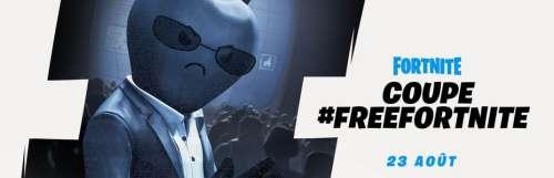 Fortnite : Epic Games en rajoute une couche contre Apple avec un tournoi #FreeFortnite