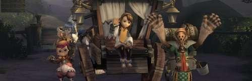 Un verrouillage régional pour le jeu en ligne de Final Fantasy Crystal Chronicles Remastered Edition
