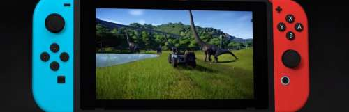Jurassic World Evolution construit son nouveau parc sur Nintendo Switch