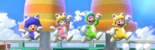 Le chatoyant Super Mario 3D World ressortira le 12 février 2021 sur Switch
