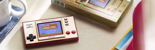 Nintendo sort un Game & Watch Super Mario Bros. le 13 novembre prochain