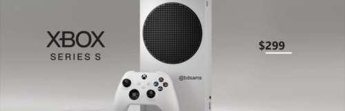Xbox series x - La Xbox Series X et la Xbox Series S sortiraient le 10 novembre à 499 dollars et 299 dollars