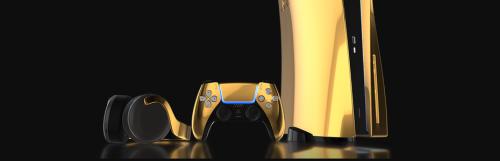 Précommander une PS5 en or vous coûtera un peu moins de 9 000 euros