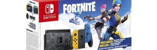 Un nouveau modèle de Switch exclusif avec Fortnite