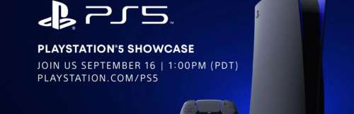 Playstation 5 / ps5 - Rendez-vous le 16 septembre pour le Showcase PlayStation 5