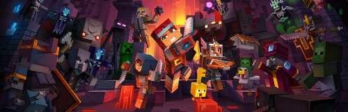 Le cross-play arrive en novembre dans Minecraft Dungeons