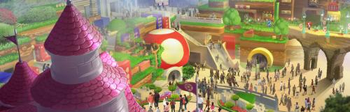 L'espace Super Nintendo World ouvrira au printemps 2021 à Osaka