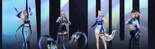 Le groupe virtuel K/DA débarque dans trois jeux de chez Riot Games