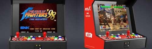 La borne d'arcade Neo Geo MVSX s'annonce en Europe avec ses 50 jeux