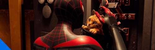 Playstation 5 / ps5 - Spider-Man : Miles Morales, le nouvel ami des chats
