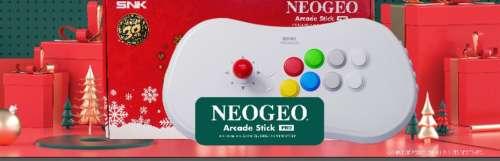 Le Neo Geo Arcade Stick Pro revient dans une version Noël
