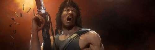 John Rambo joue du couteau et vide son chargeur dans Mortal Kombat 11