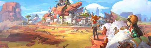 Carnet rose - My Time at Sandrock s'annonce sur PC et consoles pour 2022