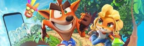 On The Run : le Crash Bandicoot mobile présente son gameplay